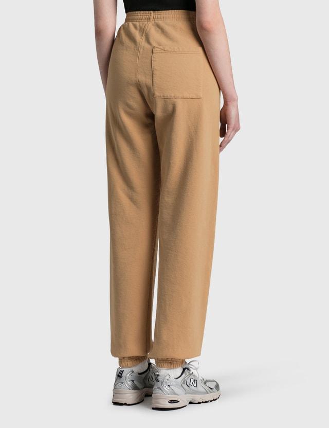 Sporty & Rich Rizzoli Sweatpants Camel/white Women