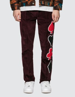Just Don Dealers Corduroy Track Pants