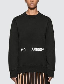 Ambush Logo Print Sweatshirt