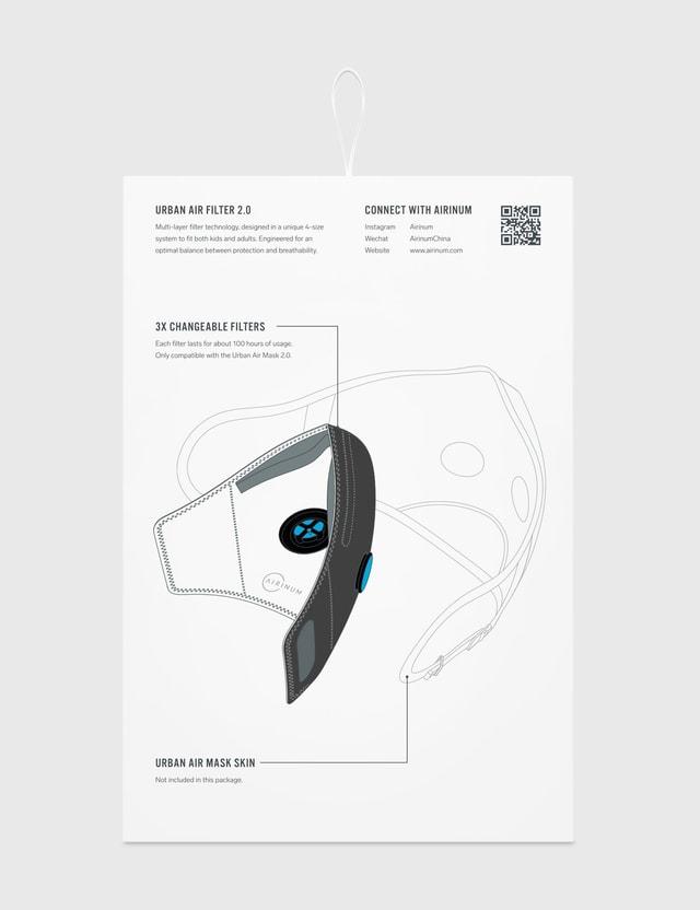 Airinum 3 Pack Urban Air Filter 2.0 N/a Unisex