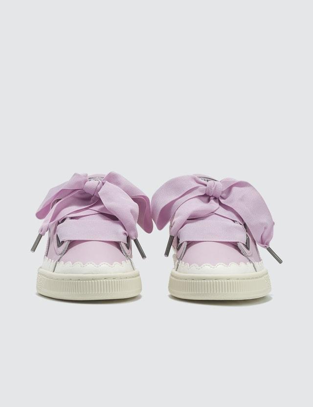 Puma Basket Heart Scallop Wn's Pink Women