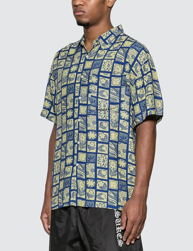 Noon Goons Che Shirt Blue Pattern Men