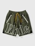 Rhude Logo Shorts Picutre