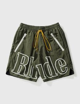 Rhude Logo Shorts