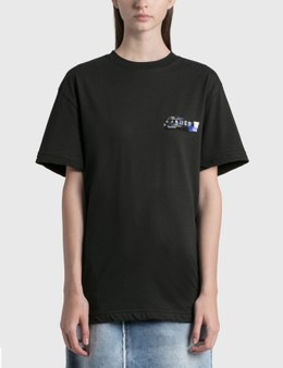 Ader Error Foil Tape Logo T-Shirt