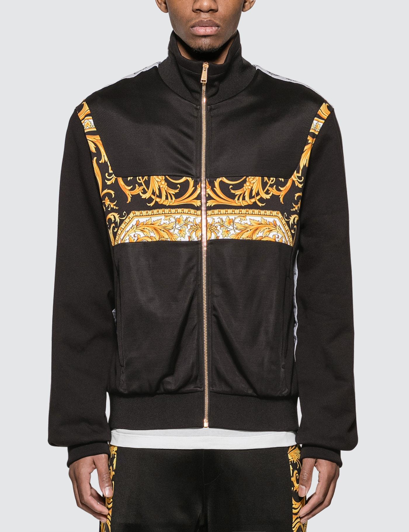 Barocco Logo Jacket