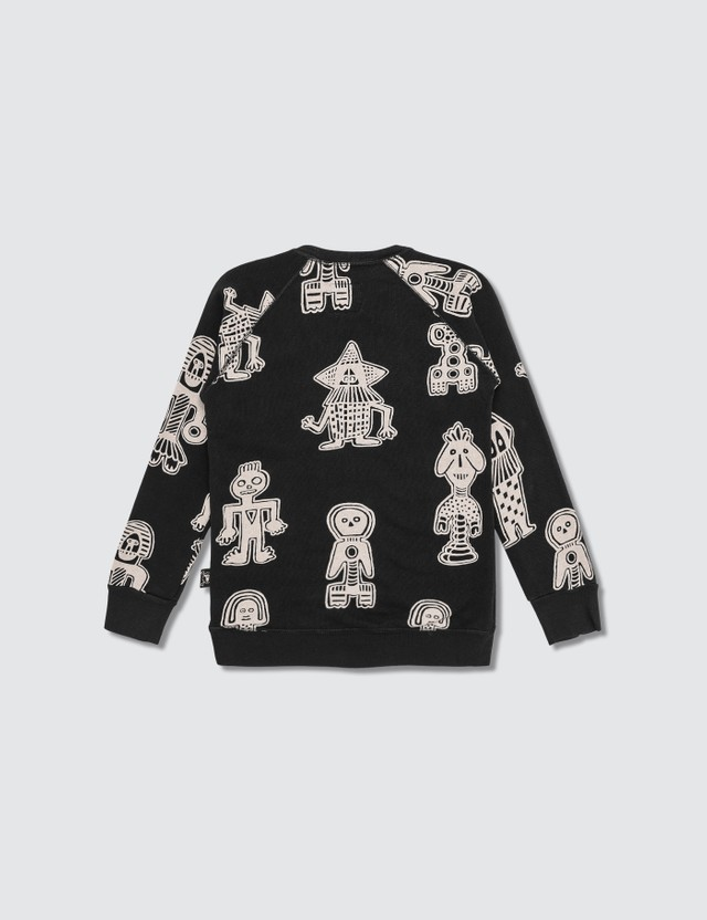 NUNUNU All Over Tribal Dancers Sweatshirt (Kids)