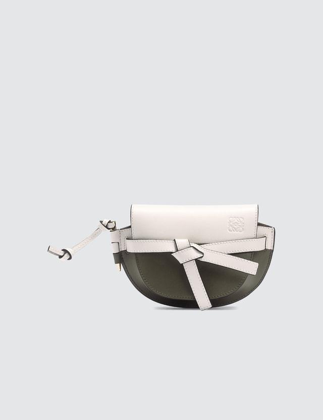 Loewe Mini Gate Colorblock Bag