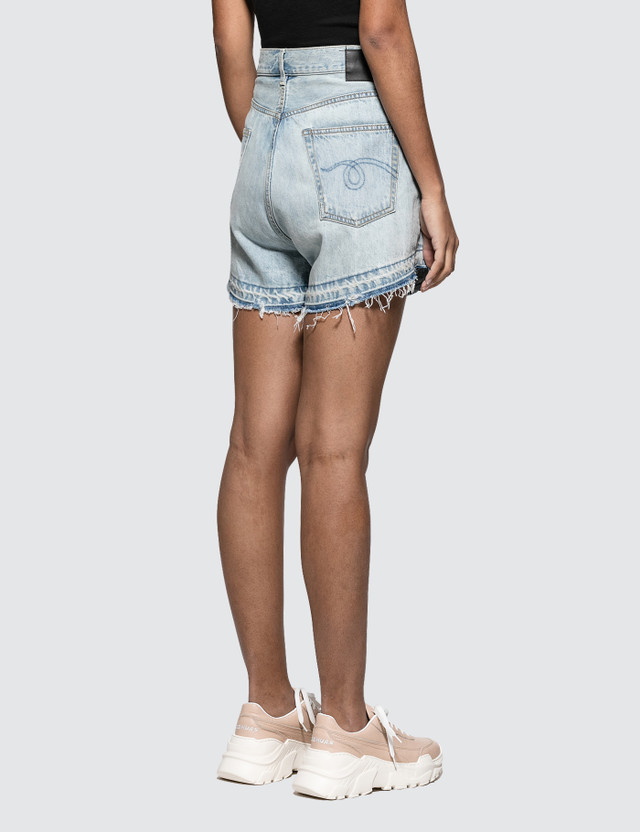R13 Cross Over Shorts