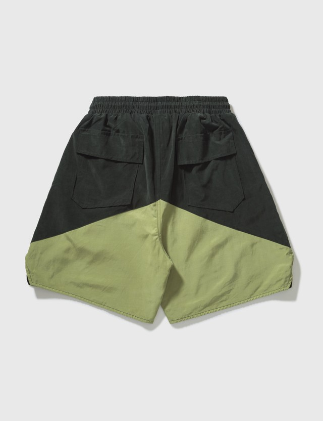 Rhude Yachting Shorts Black/green Men