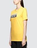 Places + Faces Box Logo T-shirt Yellow Women