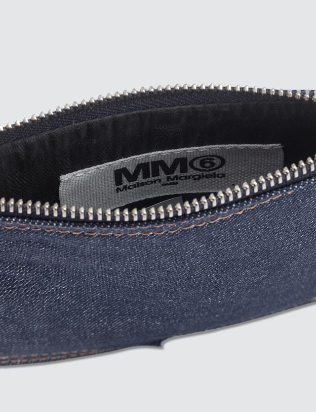 MM6 Maison Margiela Denim Pocket Chain Cross Body Bag