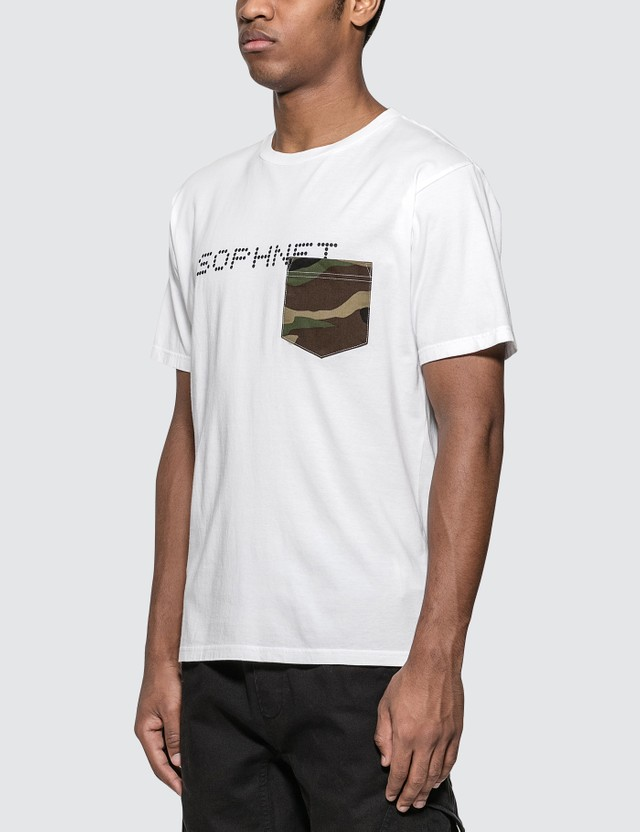 SOPHNET. Camouflage Pocket T-Shirt