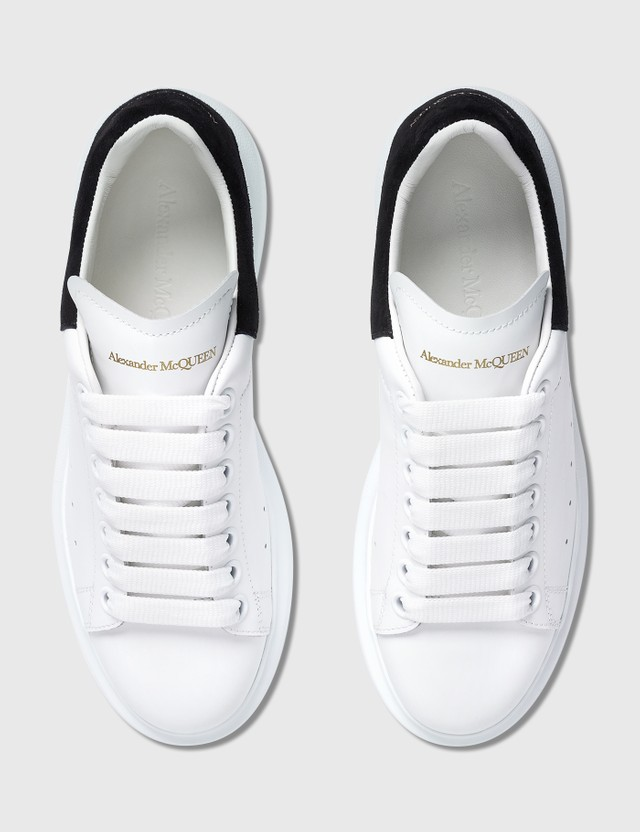 Alexander McQueen Oversized Sneakers White/black Women