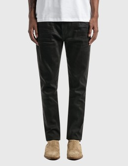 Saint Laurent Cropped Mid-Rise Skinny Jeans