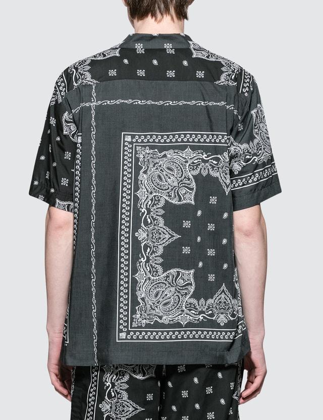 Sacai Bandana Print Shirt