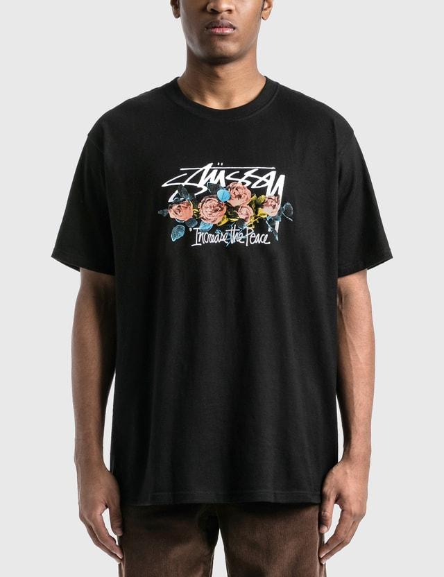 Stussy ITP Roses T-Shirt Black Men
