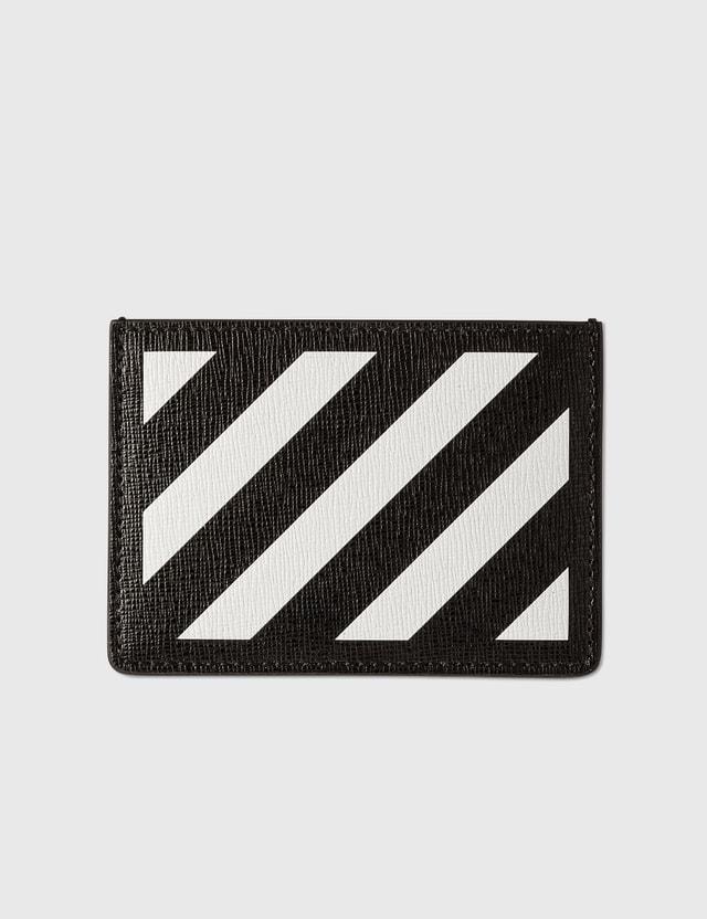 Off-White Diag Cardholder Black White Men