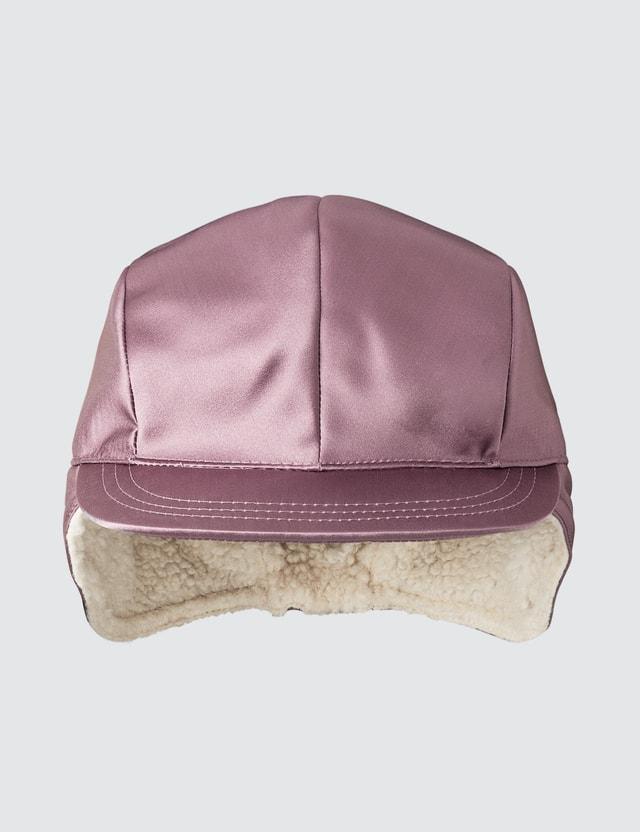 Undercover Pilot Cap Pink Gray Women