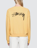 Stussy Ezra Cropped Baggy Sweatshirt Picture