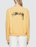 Stussy Ezra Cropped Baggy Sweatshirt Picture
