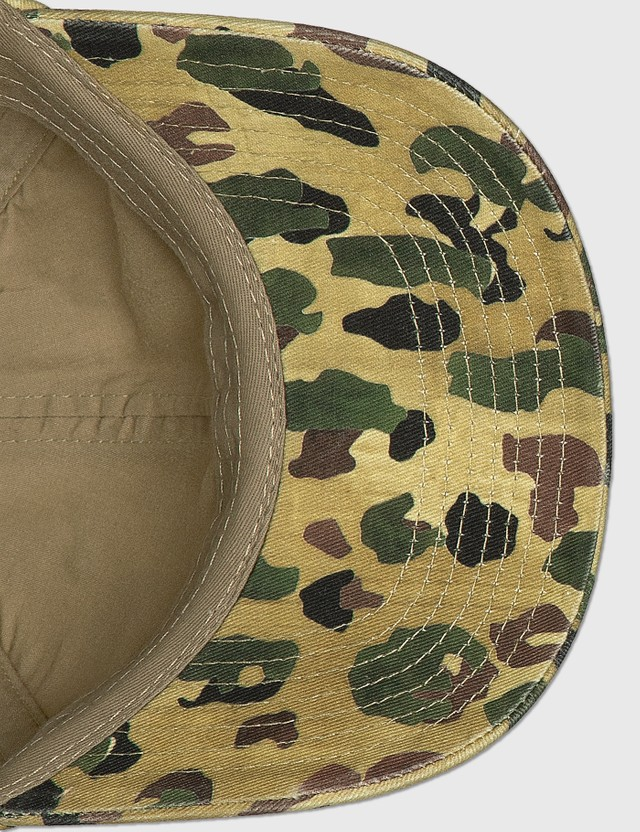 Palm Angels Classic Logo Camo Cap Green Men