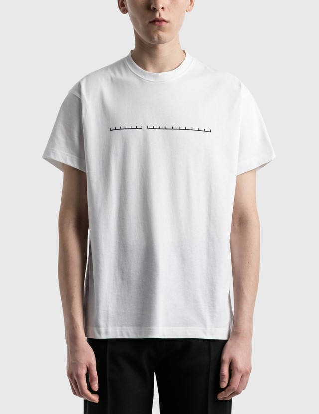 Random Identities Logo T-Shirt White Men