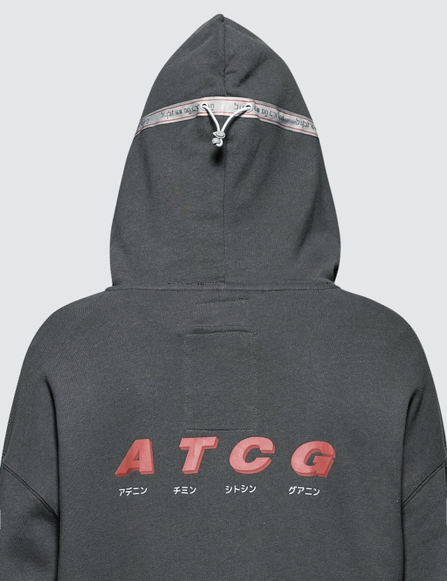 C2H4 Los Angeles Utility Multi-pockets Data Cable Hoodie