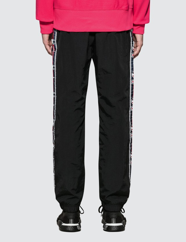Champion Reverse Weave Side Taped Track Pants With Elastic Cuff