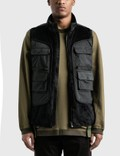 White Mountaineering Fleece Luggage Pocket Vest Picture