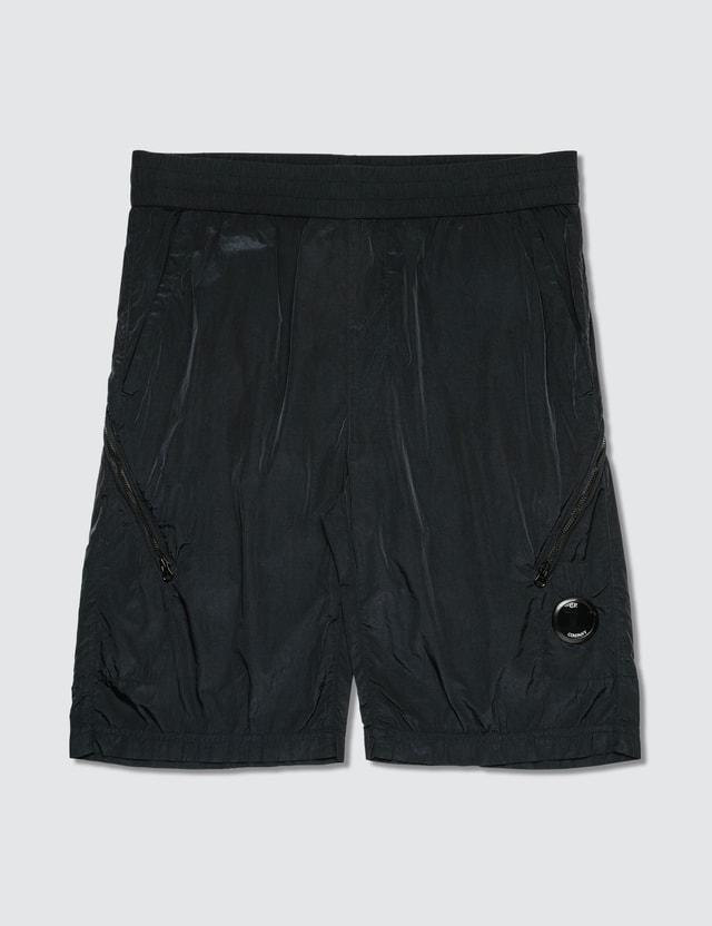 CP Company Chrome Lens Pocket Shorts