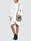 JW Anderson Buttondown Puff Sleeve Dress White Women