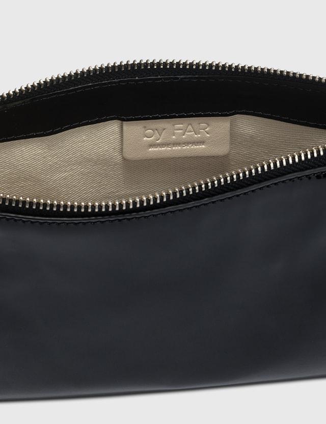 BY FAR Rachel Black Patent Leather Bag Black Women