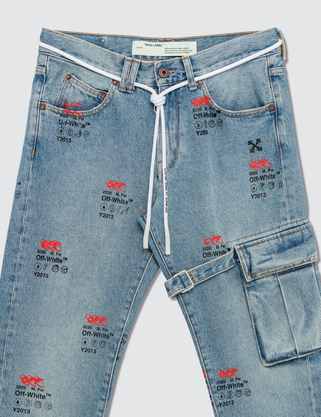 Off-White Diag Indust Y013 Slim Jeans