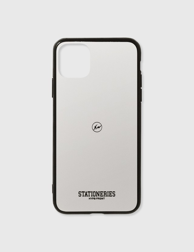 Stationeries by Hypebeast x Fragment HYPB/FRGMT iPhone Case 11 Pro Max Black Unisex