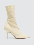 Yeezy Season 6 Women's Ankle Boot In Stretch Canvas 70mm Heel Picture