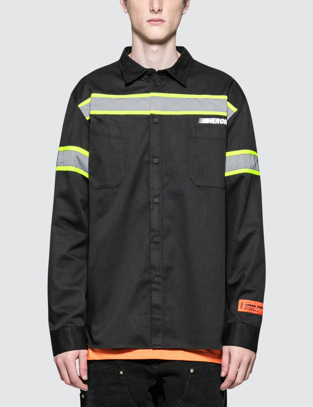 Heron Preston CTNMB Reflector Shirt