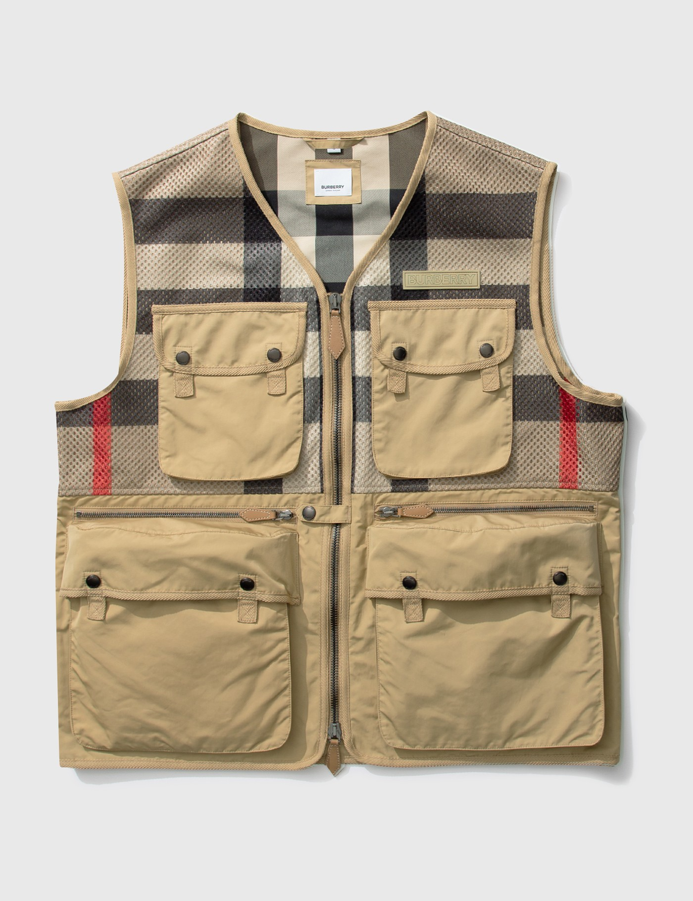 버버리 Burberry Finmere Check Vest