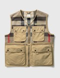 Burberry Finmere Check Vest 사진