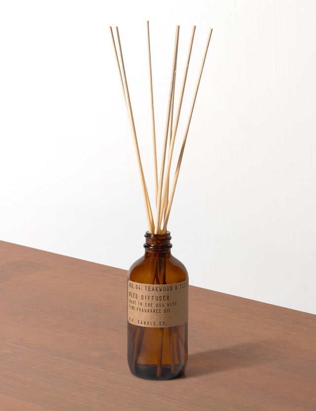 P.F. Candle Co. Teakwood & Tobacco Reed Diffuser N/a Unisex