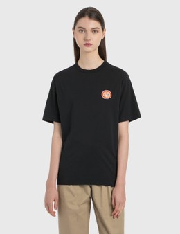 Maison Kitsune Flower Fox Patch T-Shirt
