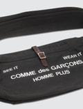 Comme des Garçons HOMME See It Wear It Shoulder Bag