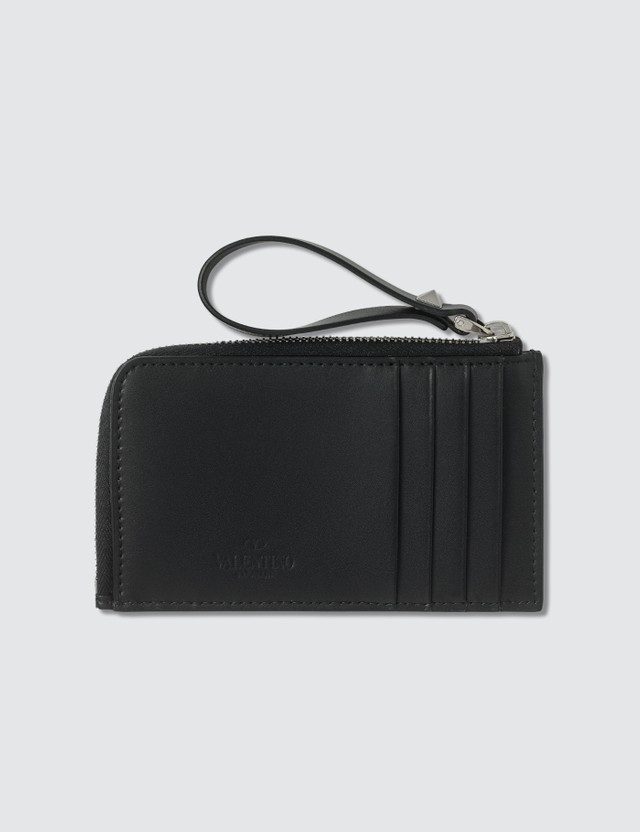 Valentino Valentino Garavani Zipped Card Holder