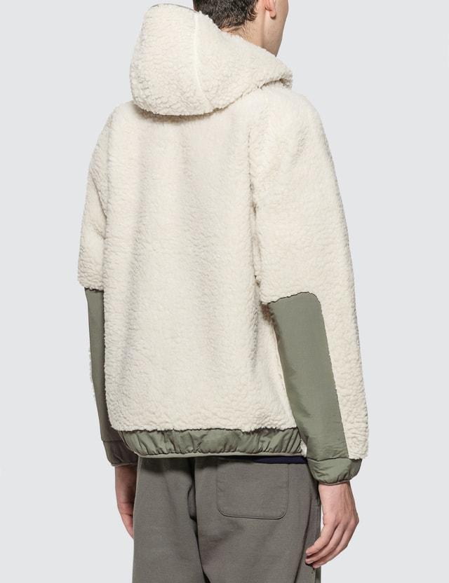 Thisisneverthat Hooded Boa Fleece Jacket
