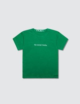 F.A.M.T. No Social Media. Short-Sleeve T-Shirt Picture