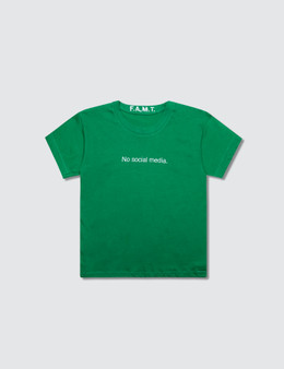 F.A.M.T. Kids' No Social Media. Short-Sleeve T-Shirt