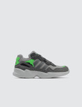 Adidas Originals Yung-96 Children Grey Two F17/grey Three F17/shock Pink Kids
