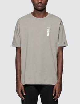 Champion Reverse Weave Wood Wood x Champion Tears S/S T-Shirt