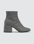 MM6 Maison Margiela Plaid Ankle Boots Picutre
