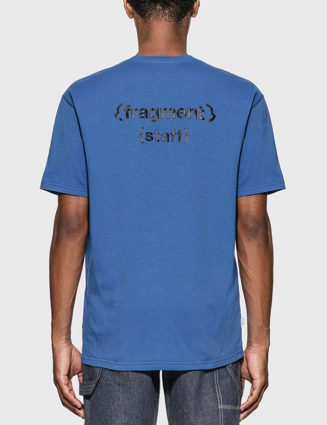Moncler Genius Moncler Genius x Fragment Design Logo T-Shirt Blue Men